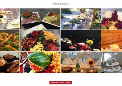 Website gallery for A Catered Affair