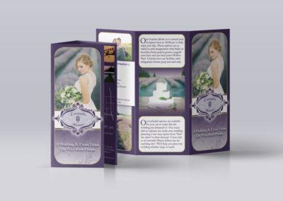 Lavender Manor – Tri-fold Brochure