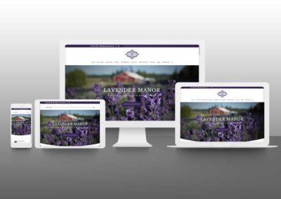 Lavender Manor – Website