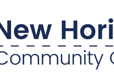 Horizontal logo for New Horizons Community Church