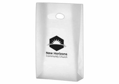 Paper bag for New Horizons Community Church
