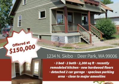 House listing flyer for Prime Advantage Real Estate Group