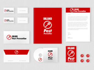 Branding display for Inland Pest Prevention