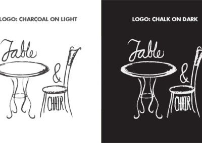 Table and Chair brand standards 5