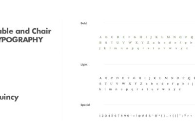 Table and Chair brand standards 6