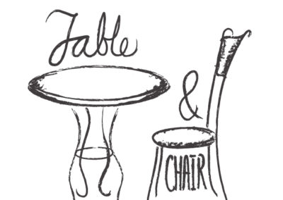 Table and Chair logo