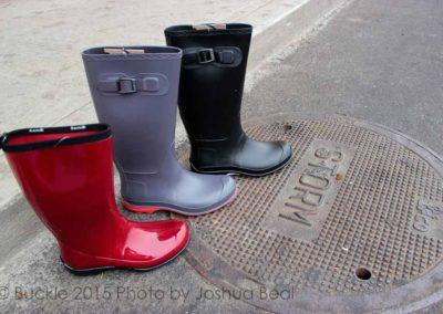 Rain-ready boots