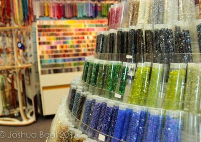Tower of bead tubes