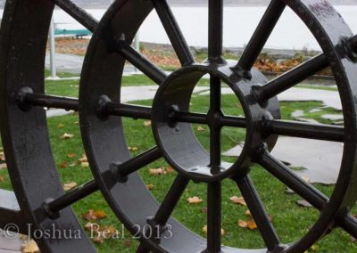 Fence wheel