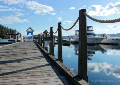 Pier walkway