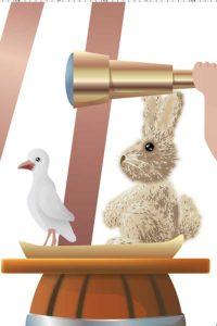 Rabbit and dove