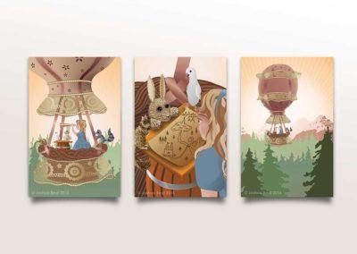 Hot Air Balloon Adventure – Canvas Series