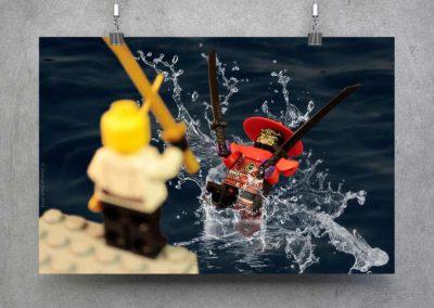 Lego Splash – Digital Art