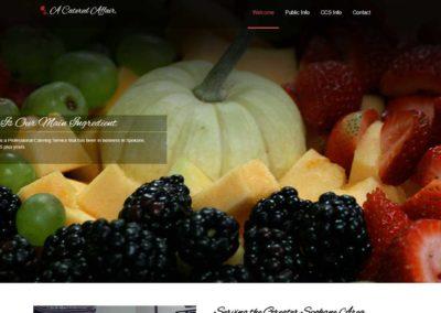 A Catered Affair website banner
