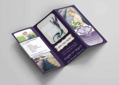 Outside of Lavender Manor trifold