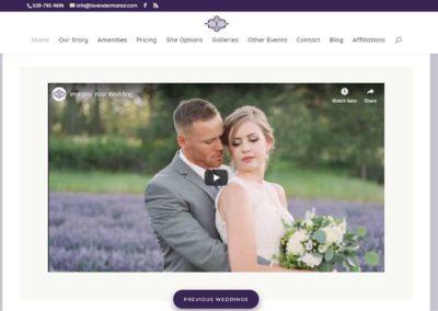 Imagine video for Lavender Manor Website