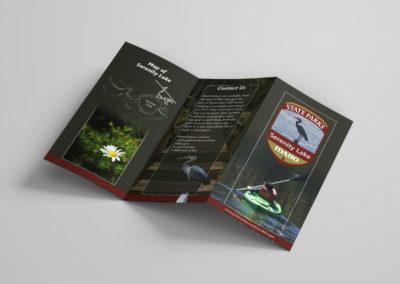 Serenity Lake – Tri-fold Brochure