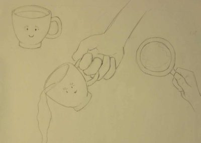 Sketch of the Cup for The Companion Cup
