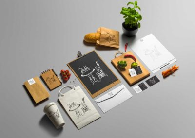Table and Chair – Branding