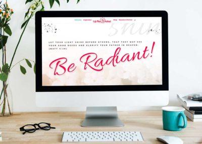 Life Made Radiant – Website