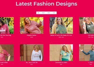 Fashion line on Life Made Radiant