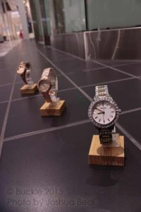 Lineup of watches