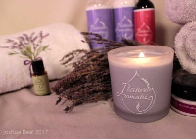 Candle and body products