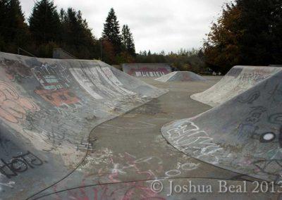 Skate park basin