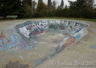 Silverdale skate ramp