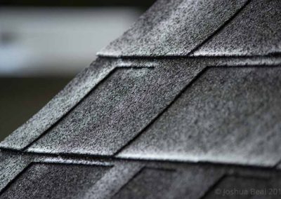 Roofline after the rain