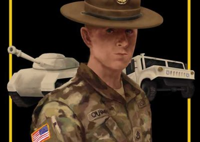 US Army portrait