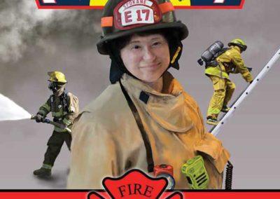 Fire Department portrait