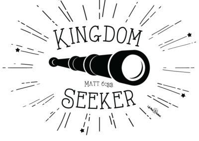 """Kingdom Seeker"" - shirt design"
