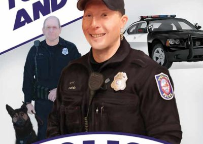 Police portrait